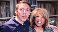 Gilles Peterson with Linda Lewis