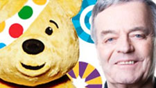 Tony Blackburn with Pudsey