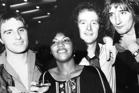 Steve Harley, Linda Lewis, Jim Cregan, Rod Stewart